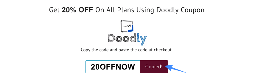 Doodly Coupon Code: 20% Discount On All Plans | Sep 2019